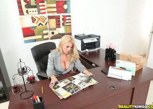 Charity - Power Move - Big Tits Boss - Boobs TGP
