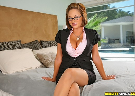 Katie Kox - Working A Double - Big Tits Boss - Boobs Sexy Photo Gallery
