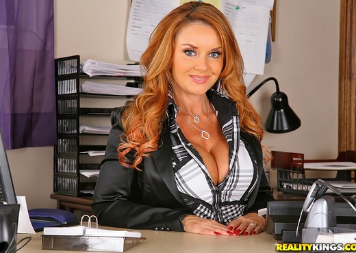 Janet Mason - Shes The Boss - Big Tits Boss - Boobs Nude Gallery