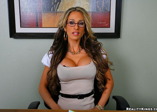 Sarah Jessie - High Expectations - Big Tits Boss - Boobs Sexy Photo Gallery