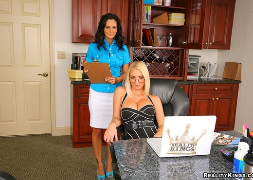 Ava Addams & Molly Cavalli - Big Tits In Charge - Boobs Porn Gallery