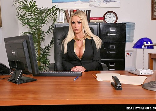 Nikki Benz - Lesson Learned - Big Tits Boss - Boobs Picture Gallery