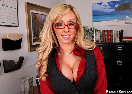Jessica - Work Hard Play Hard - Big Tits Boss - Boobs Sexy Photo Gallery