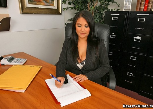 Sophia Lomeli - Business Boner - Big Tits Boss - Boobs Porn Gallery