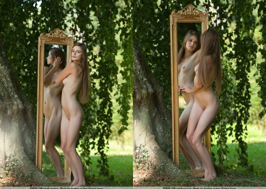 Through The Looking Glass - Lena S. - Solo Nude Pics