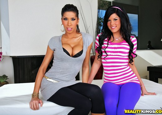 Kayla Carrera & Madison Parker - Please Me - CFNM Secret - Hardcore Sexy Photo Gallery