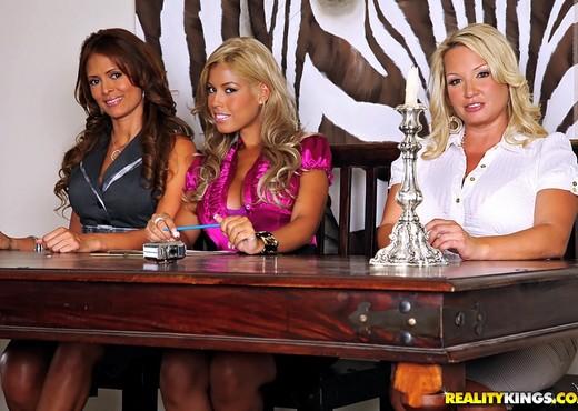 Bridgette B, Monique Fuentes & Rachel Love - CFNM Secret - Hardcore Sexy Gallery