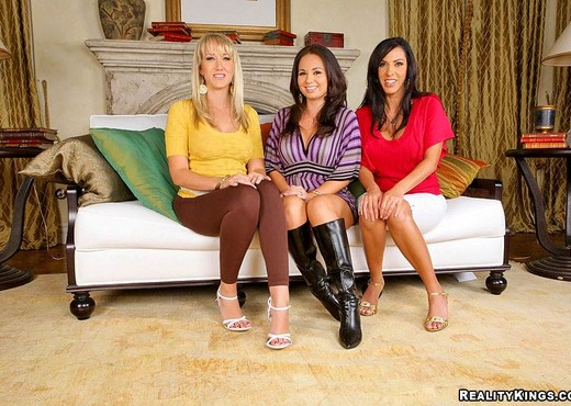 Holly West, Alana Evans & Veronica Rayne - Cum Cravers - Hardcore Picture Gallery