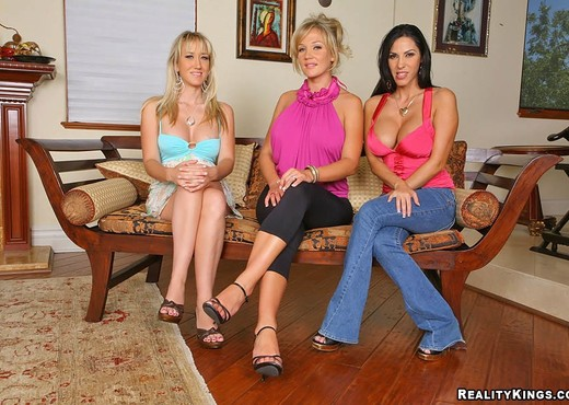 Veronica Rayne, Alana Evans & Nikki Sexx - CFNM Secret - Hardcore Sexy Photo Gallery