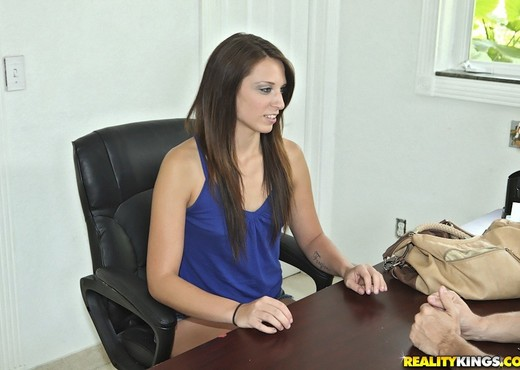 Ashley Storm - Taken By Storm - First Time Auditions - Amateur Nude Pics