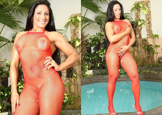 Stephany Rodrigues - All Fishnet - Mike In Brazil - Hardcore Sexy Photo Gallery