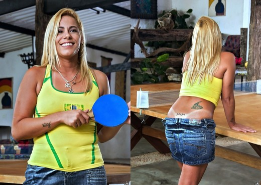 Karina Baccchi - Ping Pong Pussy - Mike In Brazil - Anal Image Gallery