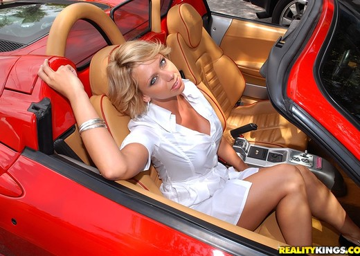 Brianna Beach - Fast Cars Easy Pussy - MILF Hunter - MILF Sexy Photo Gallery