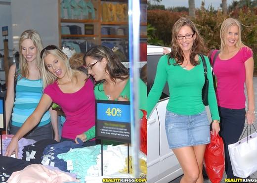 Aimee Addison, Brianna Ray, Kristen Cameron - MILF Next Door - Lesbian Hot Gallery