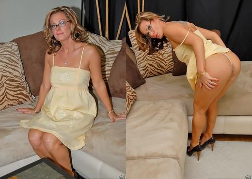 Bianca - Tit Tease - MILF Next Door - Lesbian Nude Gallery