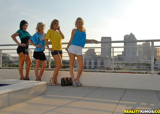 Keri Lynn, Brianna Ray, Kristen Cameron - MILF Next Door - Lesbian Image Gallery
