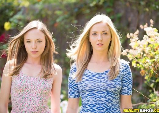 Karla Kush, Aubrey Star - Friendly Licks - We Live Together - Lesbian HD Gallery