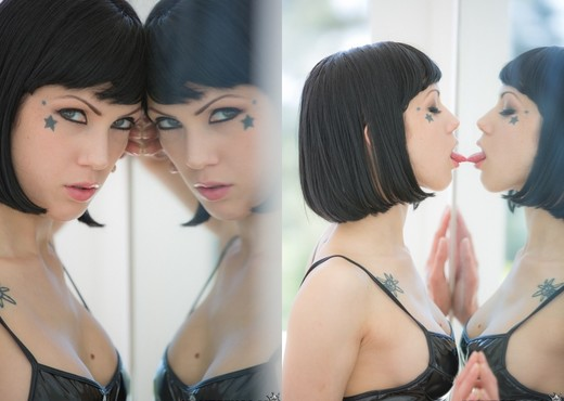 Malena Morgan, Asphyxia Noir - We Live Together - Lesbian Sexy Gallery
