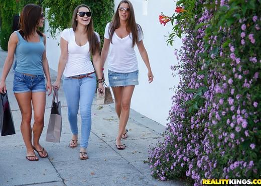 Alyssa Reece, Dani Daniels, Elisa - We Live Together - Lesbian Hot Gallery