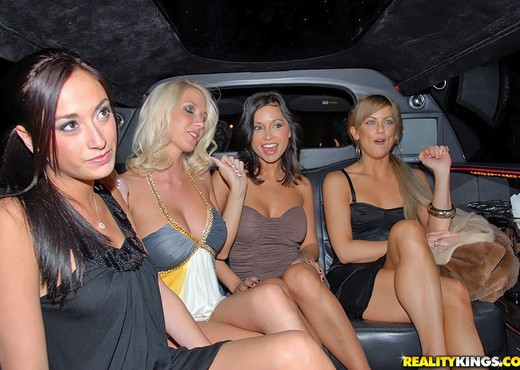 Lana, Mia, Molly Cavalli - Ladies Night - We Live Together - Lesbian Nude Pics