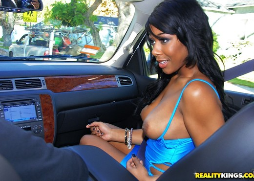 Megan Vaughn - Feel Me - Round And Brown - Ebony Sexy Photo Gallery