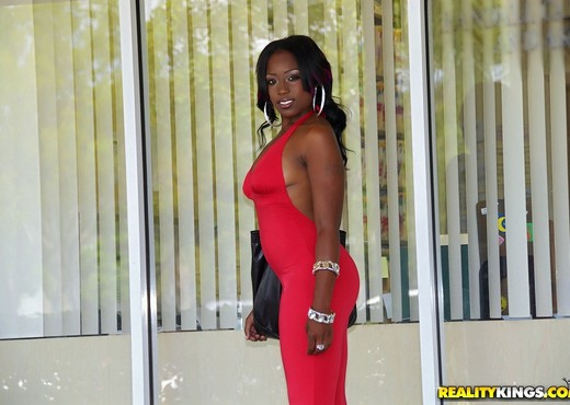 Jme Foxx - Just Jme - Round And Brown - Ebony Picture Gallery