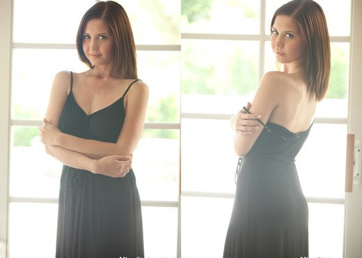Chrissy Marie - Black Dress - Solo Image Gallery