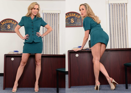 Brandi Love - Naughty Office - MILF Nude Pics