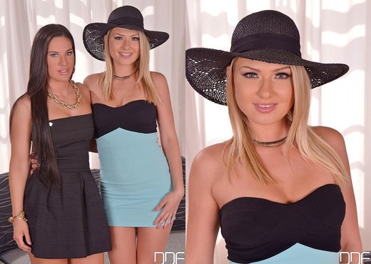 Athina & Lucy Heart - Only Blowjob - Blowjob Hot Gallery