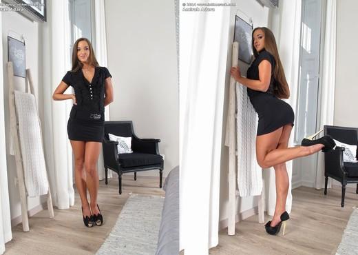 Teen hottie Amirah Adara posing in high heels and revealing clothing  1772211